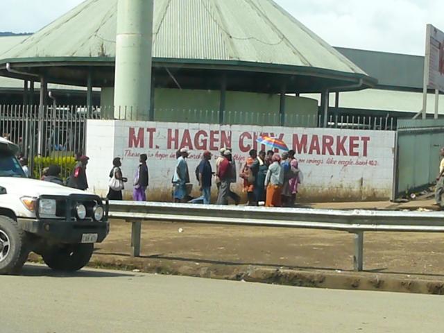 Mt Hagen Market
